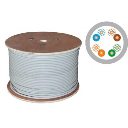 Kabel kat.5e PVC U/UTP drut 4x2x0,5 Q-LANTEC